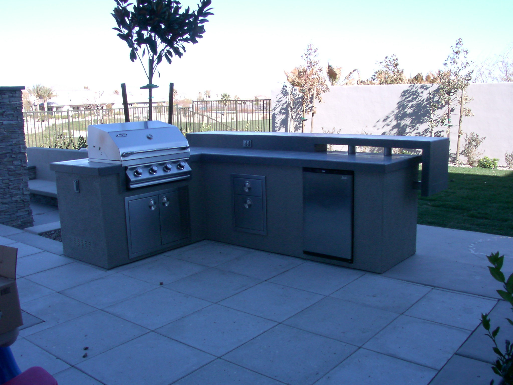 Custom Outdoor Kitchen Design By Nevada Outdoor Living Las Vegas Outdoor Kitchens And Barbecues
