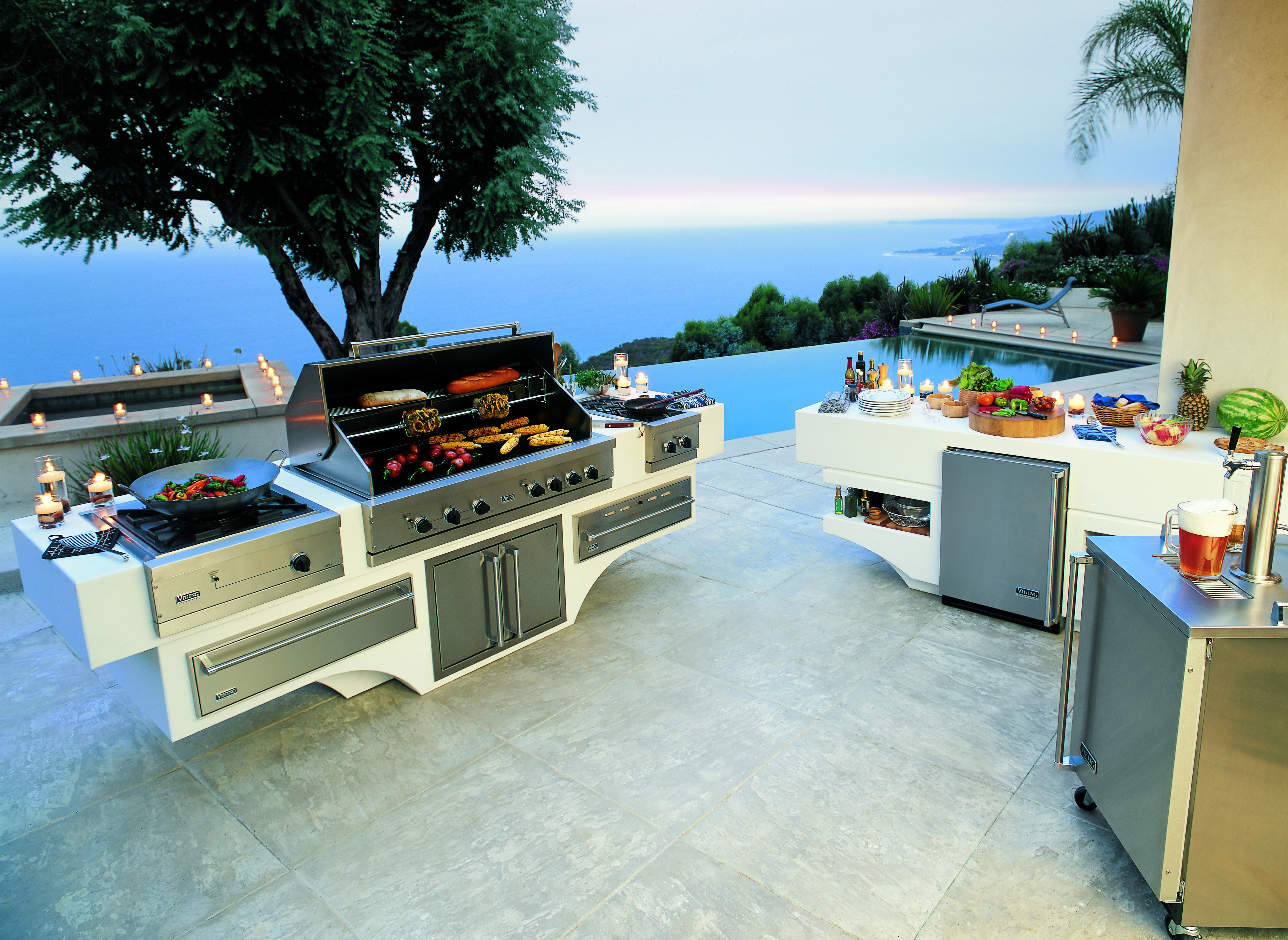 viking outdoor barbecue grills - nevada outdoor living