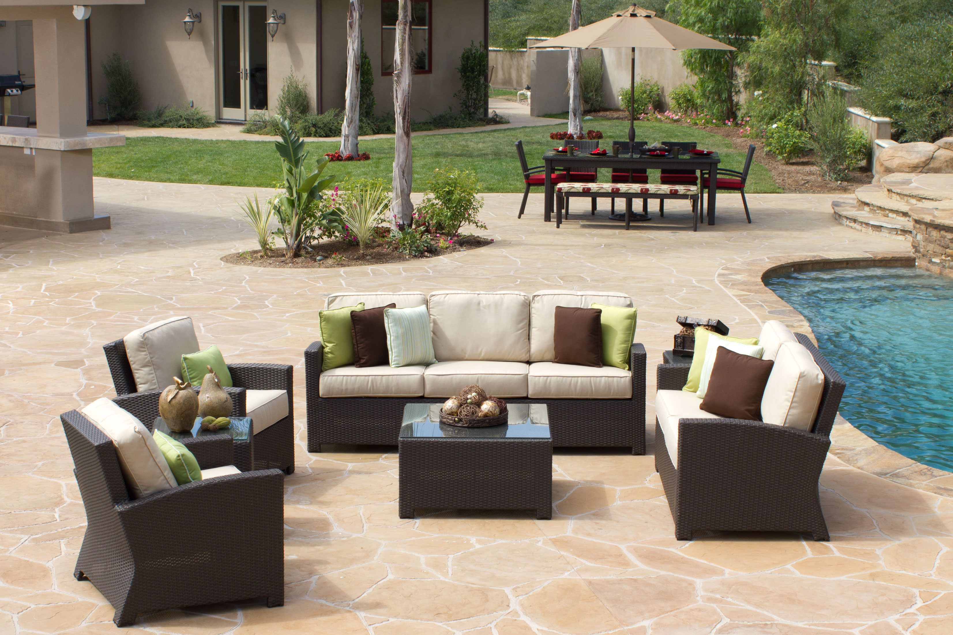 vegas patio furniture Modern Patio & Outdoor
